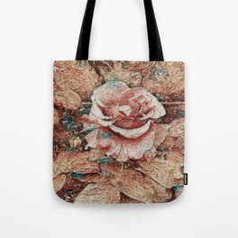 Pink Rose - Painting Style - Art Gift Tote Bag