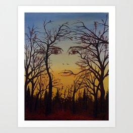 Mother Nature Art Print
