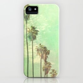 Palm tree photo. Los Angeles. La La Land  iPhone Case