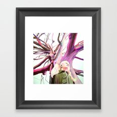 Human nature Framed Art Print