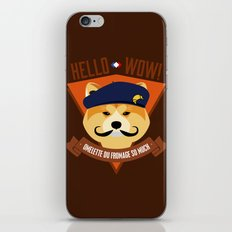 Hello wow, Omelette du Fromage So Much iPhone & iPod Skin