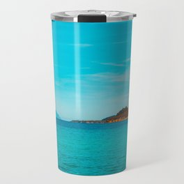 Some mountains in the sea Travel Mug