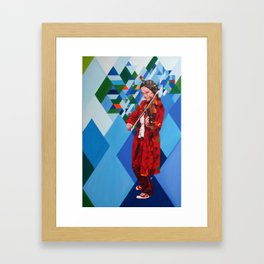 Violin desafinado,  Out of tune Framed Art Print