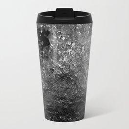 Splash in Black and White Travel Mug
