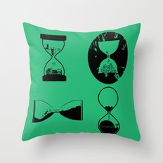 hourglasses Throw Pillow