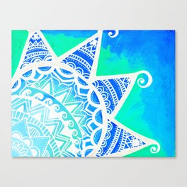 Turquoise Dream Canvas Print