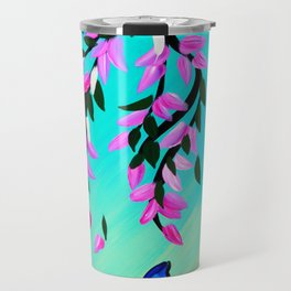 Butterfly Vertical Print Travel Mug