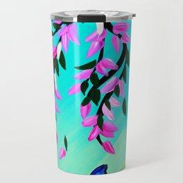 Butterfly Vertical Print Travel Mug
