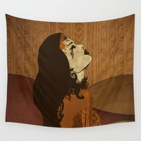 ethnic Wall Tapestries featuring Ethnic.. by Viviana Gonzalez