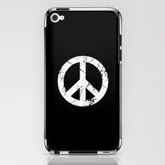 Peace Grunge Symbol iPhone & iPod Skin