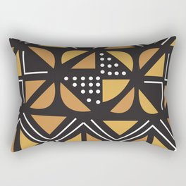 African Tribal Pattern No. 11 Rectangular Pillow