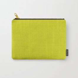 Solid Color Pantone Sulphur Spring 13-0650 Green Carry-All Pouch
