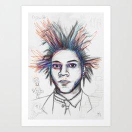 Basquiat 2 Art Print