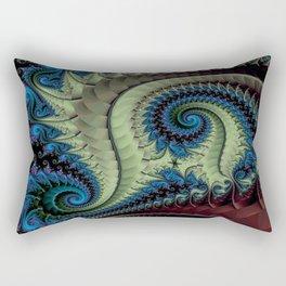 Fractal Abstract 87 Rectangular Pillow