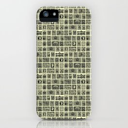 VINTAGE STAMPS iPhone Case