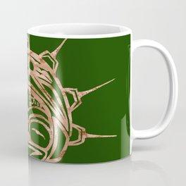 Copper Frog Grass Coffee Mug