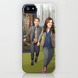 Fitzsimmons - Running Through Time and Space iPhone Case