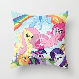 My Little pony Throw Pillow