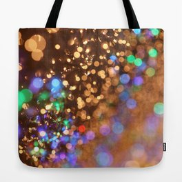 Chocolate Space Party Tote Bag