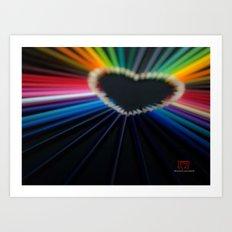 Love, Actually Art Print