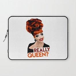 """""""Really, Queen?"""" Bianca Del Rio, RuPaul's Drag Race Queen Laptop Sleeve"""