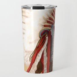 Crow Native American Travel Mug