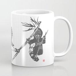 Naginata Sumi-E by Takemi Coffee Mug