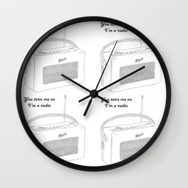 Joni Mitchell You Turn Me On I'm A Radio Wall Clock