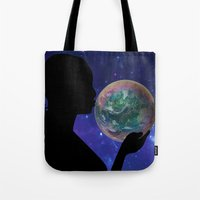 bubble Tote Bags featuring Bubble by a_Cs025