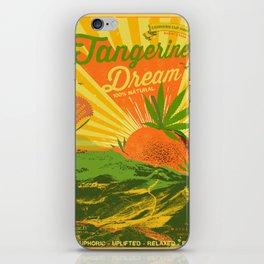 TANGERINE DREAM iPhone Skin