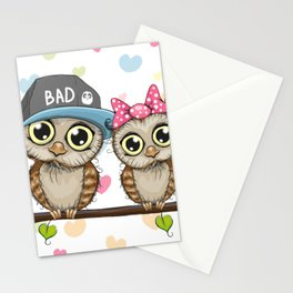 CUTE--OWL Stationery Cards