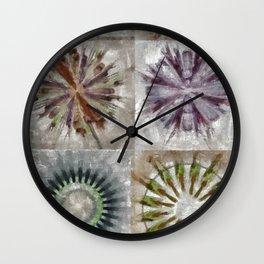 Tetramethylammonium In The Altogether Flower  ID:16165-130225-89480 Wall Clock
