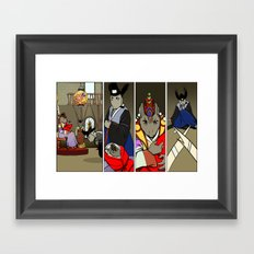 The Mouse Queen's Bargain, Page 2 Framed Art Print