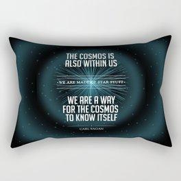 We Are Made of Star Stuff Rectangular Pillow