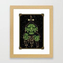 Tsantsa Framed Art Print