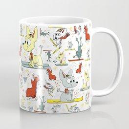 Chi's on skis Coffee Mug