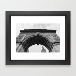 Washington Square Arch II Framed Art Print
