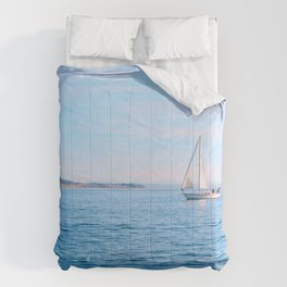 Blue Sailing Comforters