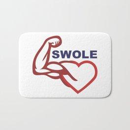 swole- Bath Mat