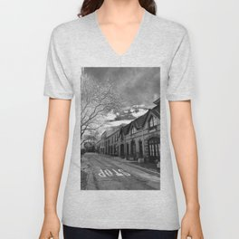 STOP For Brooklyn Heights Brownstone Love NYC Unisex V-Neck