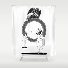 The outrageous promise. Shower Curtain