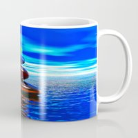 coconut wishes Mugs featuring Wishes by DagmarMarina