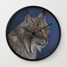 The Lynx Wall Clock