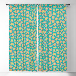 Leopard Summery Blackout Curtain