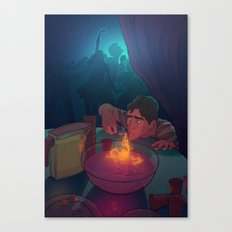 The love potion Canvas Print