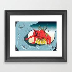象撲 Framed Art Print
