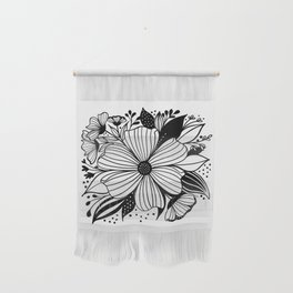 Anemone Flower Bouquet Wall Hanging