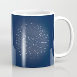 TAURUS - Astronomy Astrology Constellation Coffee Mug
