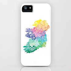 Typographic Ireland Slim Case iPhone (5, 5s)