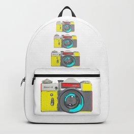 Pop Art Vintage Camera Backpack